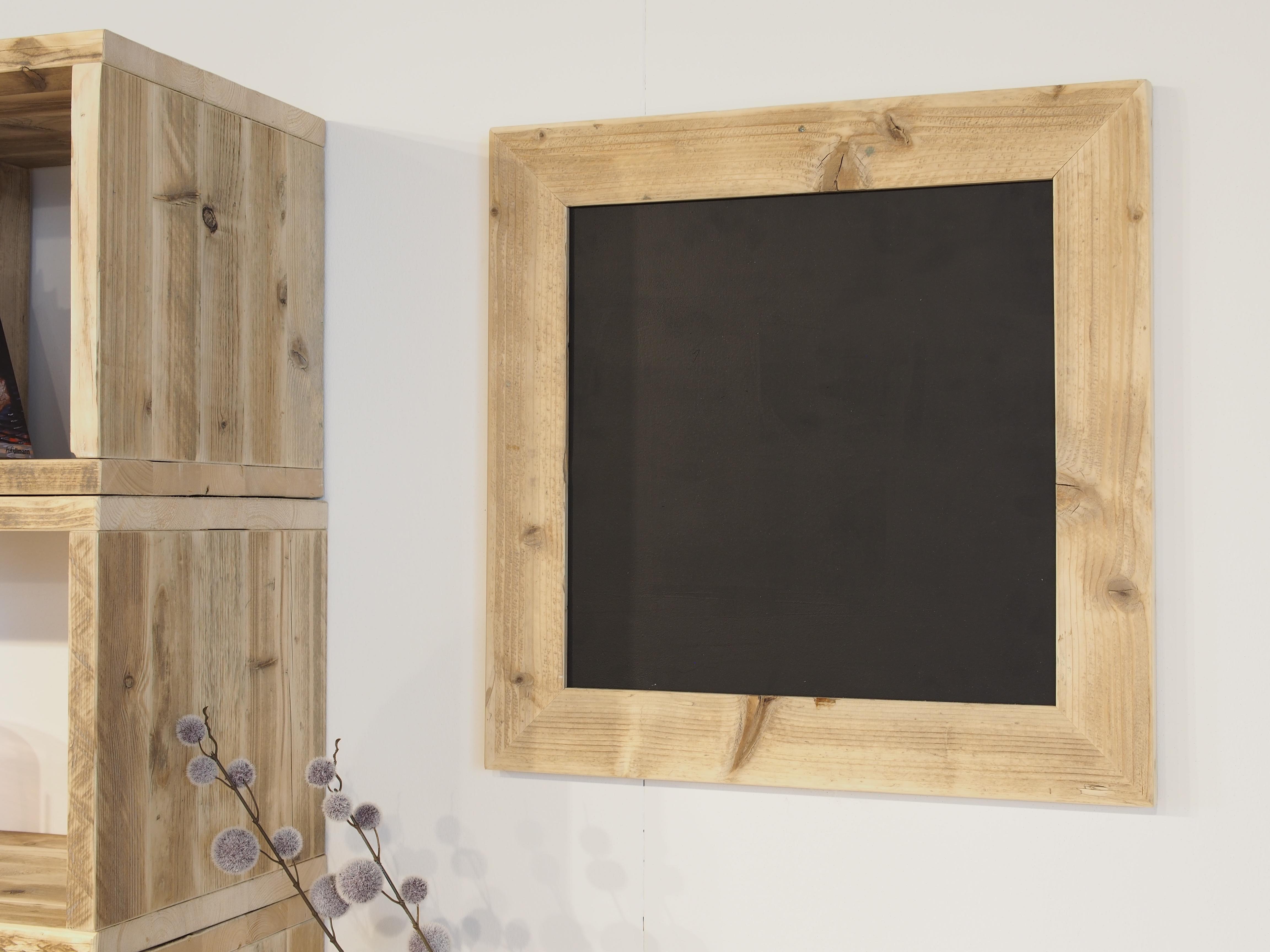 Tafel mit Bauholzrahmen 65 cm x 85 cm