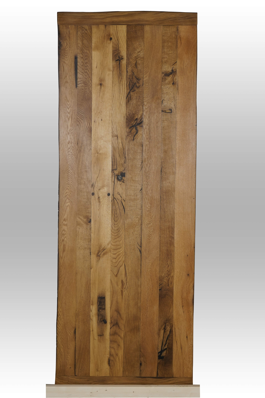 Eichentischplatte aus mind. 300 Jahre alter Eiche ausgeharzt und geölt